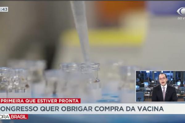 Congresso quer obrigar governo a comprar a primeira vacina