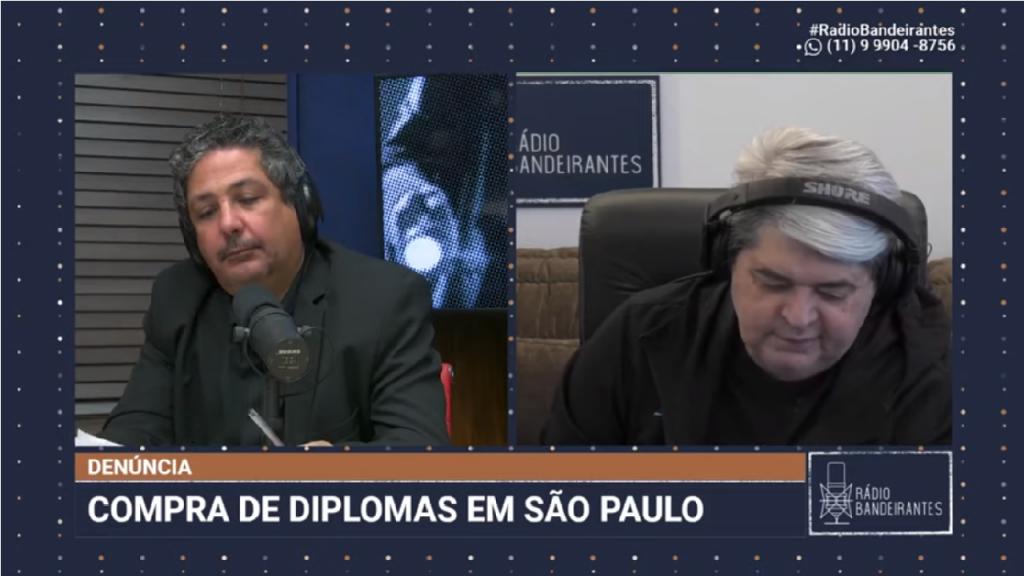Em São Paulo criminosos fazem diplomas para graduação e pós graduação segundo denúncia