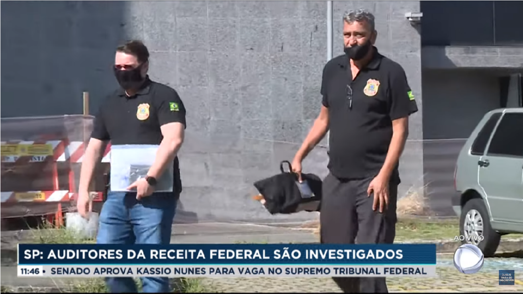 Polícia Federal investigas Auditores Fiscais