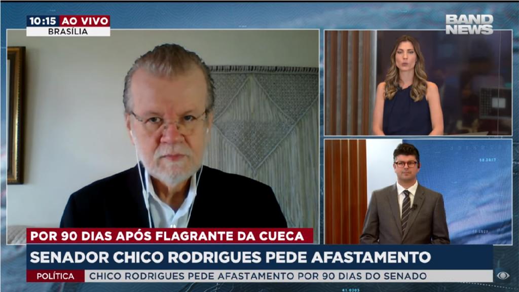 Senador Chico Rodrigues pede afastamento
