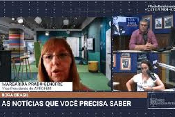 Vice-Presidente do APROFEM fala sobre preocupação sobre volta às aulas