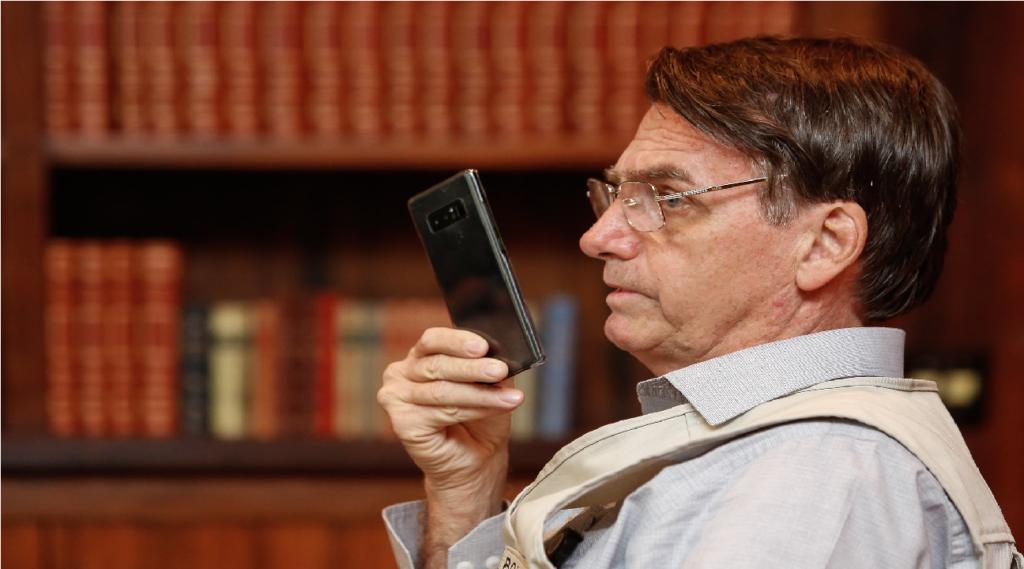 """Bolsonaro sobre 5G: """"Vamos ouvir todo mundo, não tem nada decidido"""""""