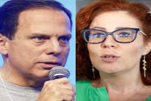 """Carla Zambelli rebate João Doria por defender Coronavac e diz """"O fato é que NÃO SABEMOS qual será a eficácia em casos graves"""""""