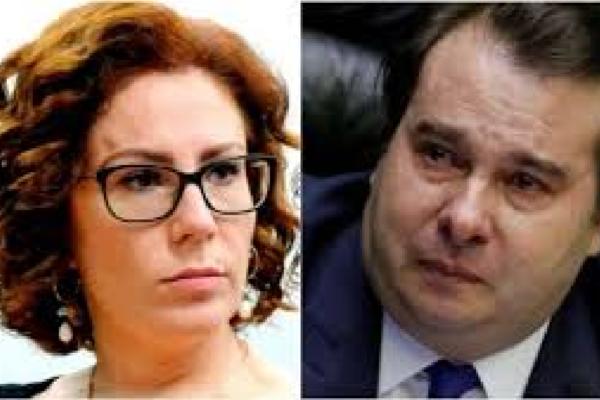 """Carla Zambelli suspeita de certeza de Maia em declarar vitória de Baleia e diz """"Espero que não seja de manipulação do resultado"""""""