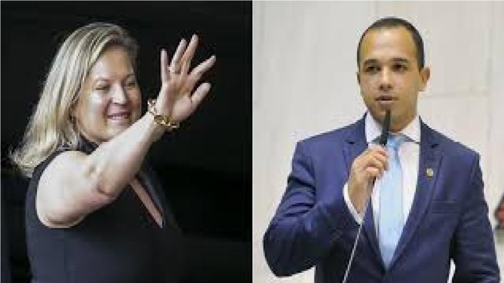 """Douglas Garcia critica Joice Hasselmann por divulgar mentira à seu respeito e diz """"É uma traíra, verdadeira traíra"""""""