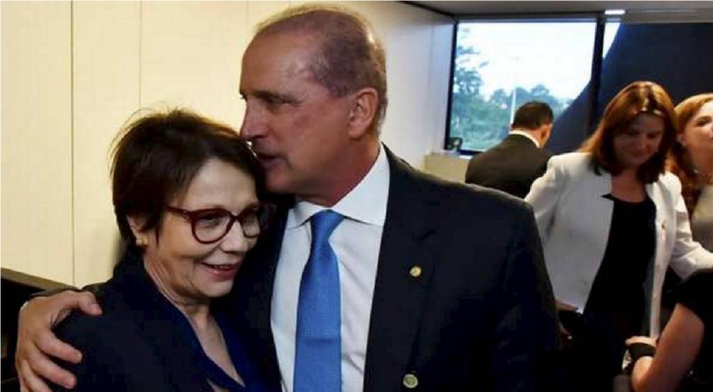 Eleição da Câmara Onyx e Tereza Cristina são exonerados e poderão votar