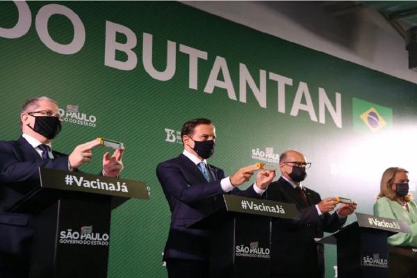 Instituto Butantan envia à Anvisa pedido de autorização do uso emergencial da Coronavac