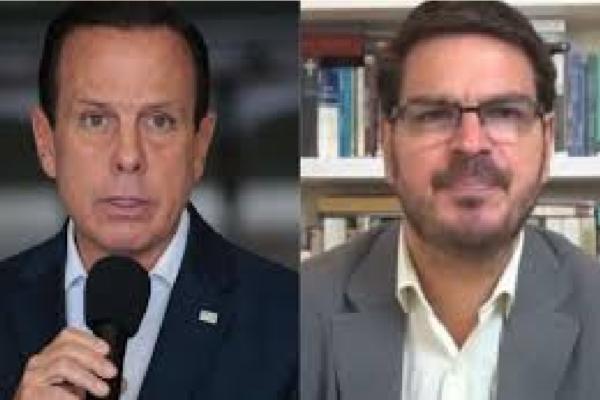 """Rodrigo Constantino se revolta com gestão de Doria e diz """"Não tenho mais paciência com tucanos isolacionistas"""""""