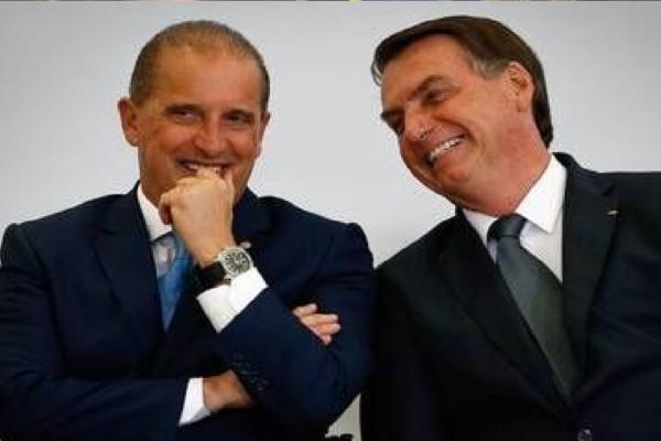 Bolsonaro escolhe Onyx Lorenzoni para voltar ao Planalto e assumir a Secretaria-Geral