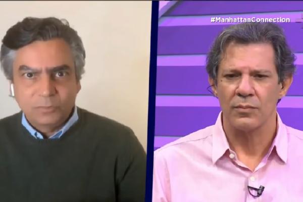 """Colunista da VEJA critica Haddad e diz """"Você é um poste de ladrão"""""""