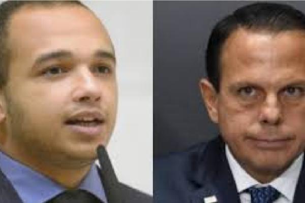 Douglas Garcia denúncia Governo Doria ao Ministério Público