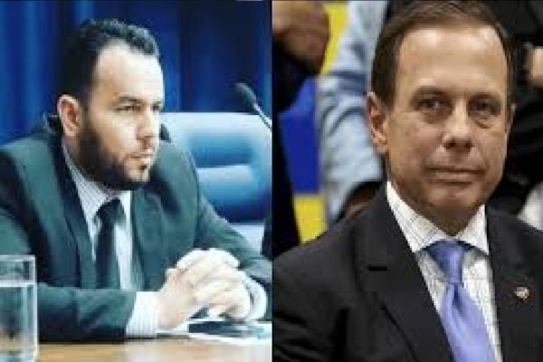 """Gil Diniz repudia atitude de Doria e diz """"Meu apoio ao jornalista que não se dobrou a esse Ditador!"""""""