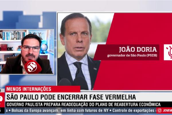 Rodrigo Constantino rebate ataque de Doria e diz Vai responder na Justiça