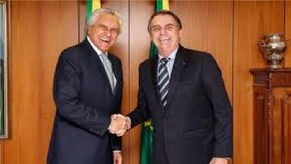 Ronaldo Caiado defende que DEM apoie reeleição de presidente Bolsonaro